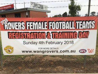 Female Registration Day