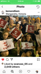 U16 Girls Footy Team wins Support from Triple J's Ben and Liam